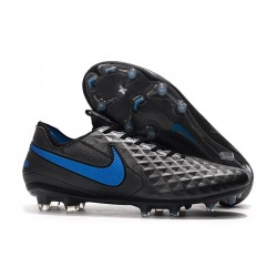 Nike Scarpa Tiempo Legend 8 Elite FG Nero Blu Hero