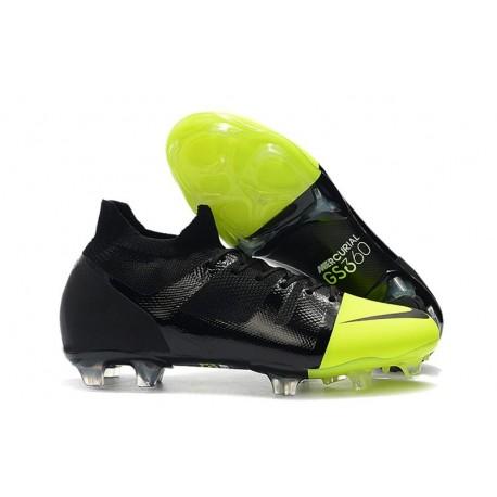 Nike Mercurial Greenspeed 360 FG Uomo Scarpe Nero Verde