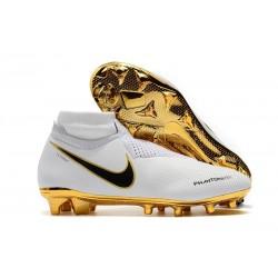 Scarpa per Terreni duri Nike Phantom Vision Elite FG - Bianca Oro