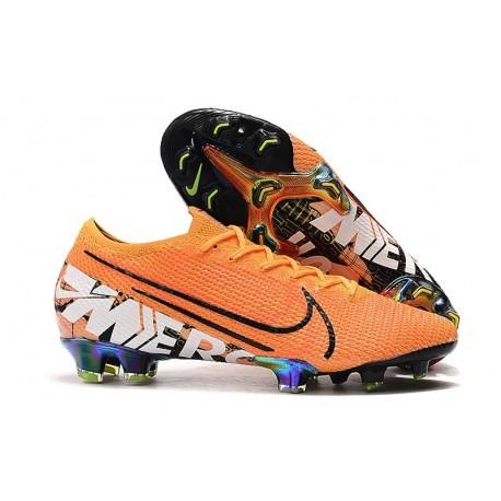 Scarpe da calcio Nike Mercurial Vapor XIII Elite FG Arancio Bianco