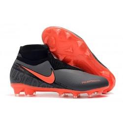 Scarpa Nike Phantom Vision Elite DF FG Nero Rosso