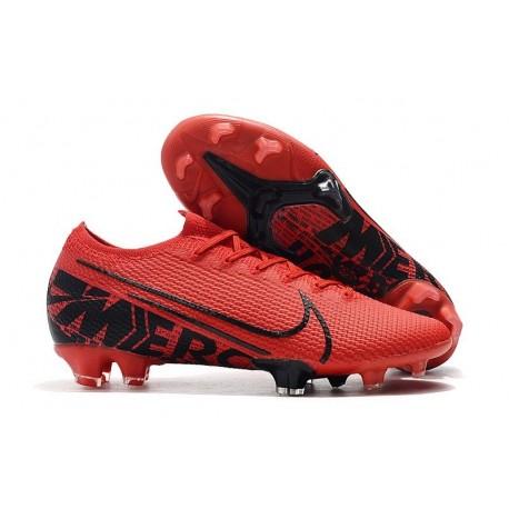 Scarpe da calcio Nike Mercurial Vapor XIII Elite FG Rosso Nero