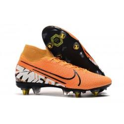 Nike Mercurial Superfly 7 Elite AC SG-Pro Arancione Bianco