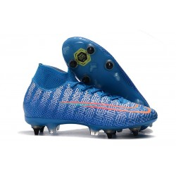 Nike Mercurial Superfly 7 Elite AC SG-Pro Blu Rosso
