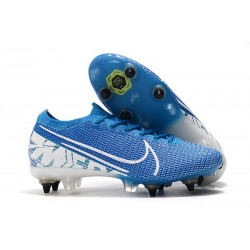 Nike Mercurial Vapor XIII Elite SG-Pro AC New Lights Blu Bianco