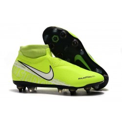 Nike Phantom Vision Elite Dynamic Fit AC SG-Pro Volt Bianco