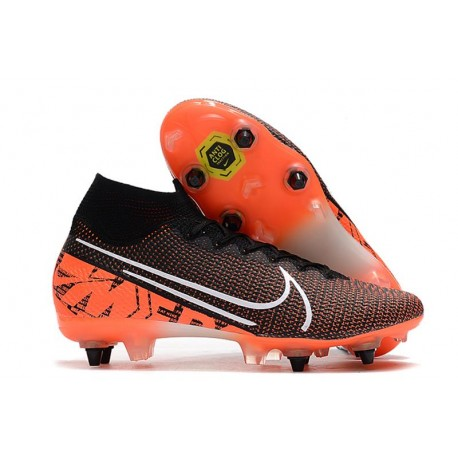Nike Mercurial Superfly 7 Elite AC SG-Pro Nero Bianco Cremisi Hyper