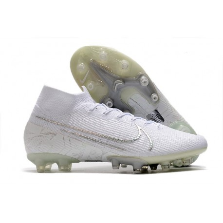 Nike Mercurial Superfly 7 Elite AG-Pro Scarpa Bianco