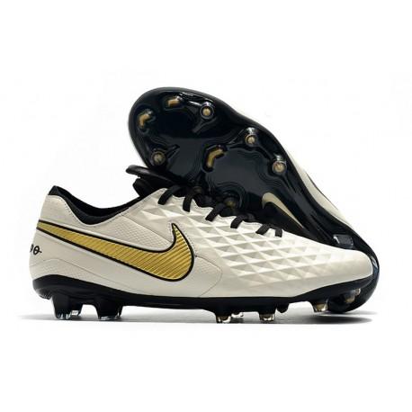 Nike Scarpa Tiempo Legend 8 Elite FG Bianco Oro