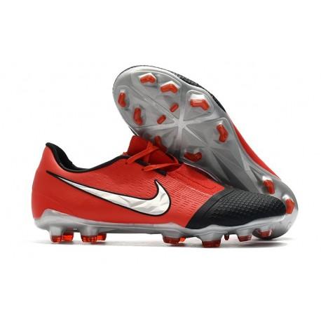 Scarpe Calcio Nike Phantom Vnm Elite FG Cremisi Laser Argento Nero