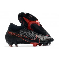 Nike Mercurial Superfly VII Elite Dynamic Fit FG Nero Rosso