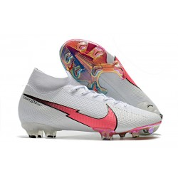 Nike Mercurial Superfly VII Elite Dynamic Fit FG Bianco Rosso Blu