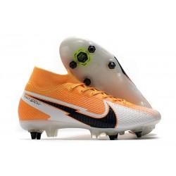 Nike Mercurial Superfly VII Elite SG-Pro Arancione Laser Nero Bianco
