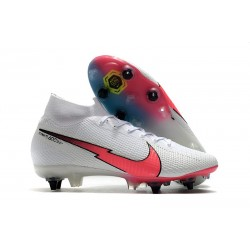Nike Mercurial Superfly VII Elite SG-Pro Bianco Rosso