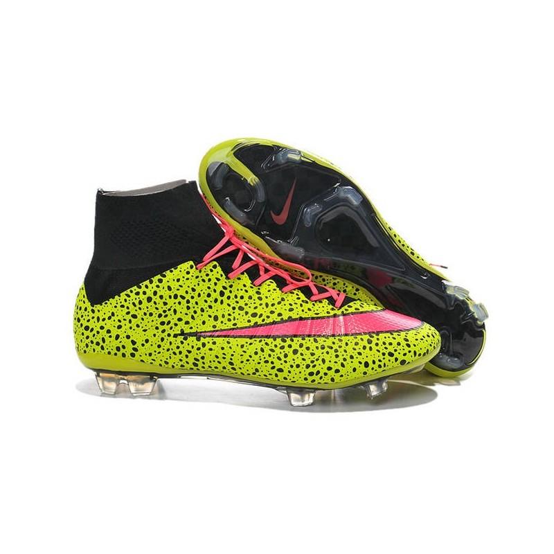 Cristiano Giallo Da Scarpe Superfly Safari Mercurial Nike Fg Iv Calcio Ronaldo Rosa HHUxwqB