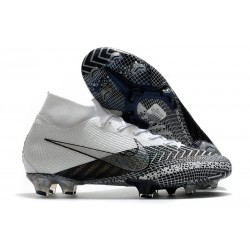 Scarpa Nike Mercurial Superfly 7 FG Dream Speed 3 - Bianco Bianco Nero