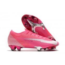 Nike Mercurial Vapor 13 Elite FG x Mbappé Rosa Blast Bianco Nero