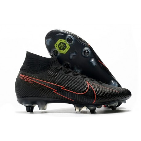 Nike Mercurial Superfly VII Elite SG-Pro Nero Rosso