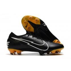 Scarpa Calcio Nike Mercurial Vapor 13 Elite FG Nero Bianco