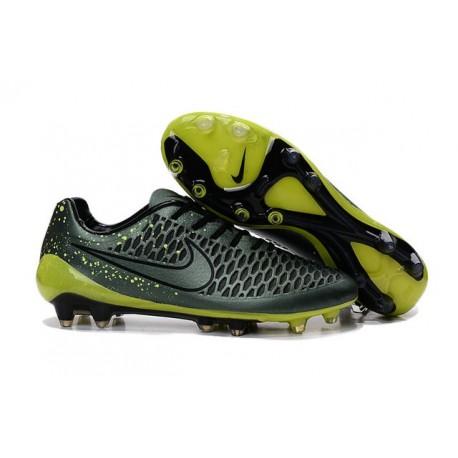 Scarpette da Calcio Nike Magista Opus FG ACC Verde Nero