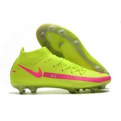 Scarpa Nuovo Nike Phantom GT Elite DF FG - Vert Rosa