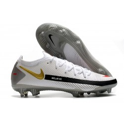 Nike Phantom GT Elite FG ACC Scarpa Calcio Bianco Nero Rosso