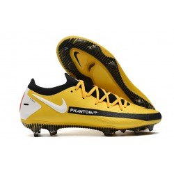 Scarpe da Calcio da Uomo Nike Phantom GT Elite FG Giallo Nero Bianco