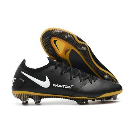 Nike Phantom GT Elite Tech Craft FG ACC Scarpa Calcio Nero Oro