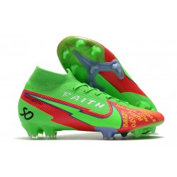 Nike Mercurial Superfly VII DF FG Faith Verde Rosso