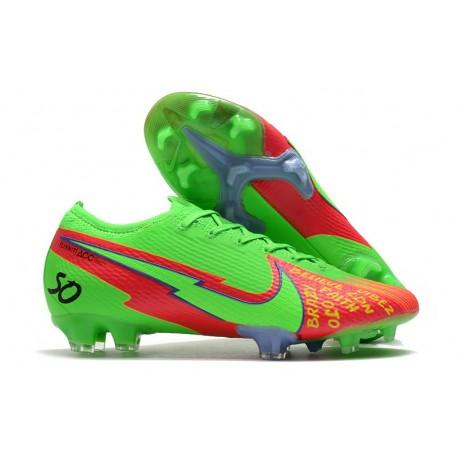 Scarpa Calcio Nike Mercurial Vapor 13 Elite FG Faith Verde Rosso