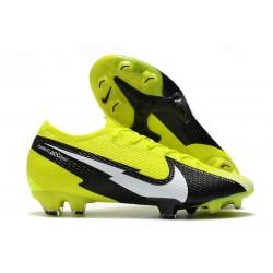 Scarpa Calcio Nike Mercurial Vapor 13 Elite FG Giallo Nero Bianco