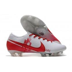 Scarpa Calcio Nike Mercurial Vapor 13 Elite FG LFC Bianco Rosso