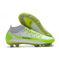 Scarpa Nuovo Nike Phantom GT Elite DF FG - Bianco Verde