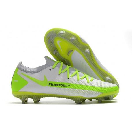 Nike Phantom GT Elite FG ACC Scarpa Calcio Bianco Verde
