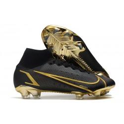 Nike Mercurial Superfly VIII Elite FG Negro Oro