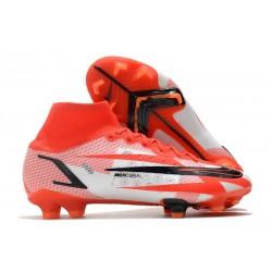 Nike Superfly 8 Spark Positivity CR7 Elite FG Cile Rosso Bianco Nero