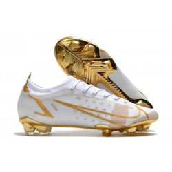 Nike Mercurial Vapor XIV Elite FG Bianco Oro